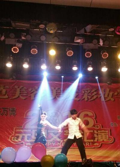 东芭学校携手邯郸清华万博文艺汇演
